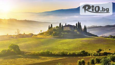 Петдневна екскурзия до Тоскана, Италия! 4 нощувки със закуски в хотел 3* + самолетен билет за 811лв, от КОСМОПОЛИТЪН ТРАВЪЛ