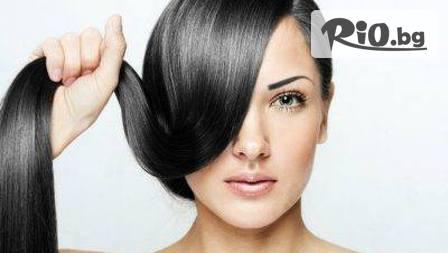 Дълбоко възстановяваща терапия за коса, подстригване, инфраред преса + преса или плитка със 76% отстъпка за 10...