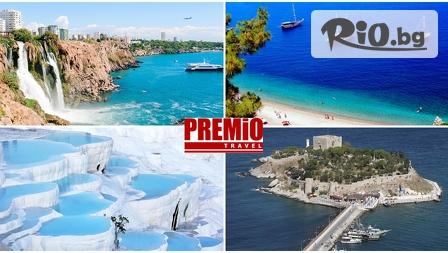 8-дневна луксозна почивка на Ликийското крайбрежие, Турция! 7 нощувки със закуски, транспорт и екскурзовод на цени от 299лв, от Премио Травел