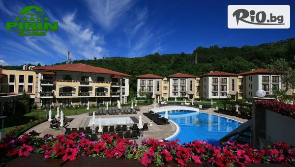 Луксозна СПА почивка в Сандански! Нощувка със закуска за до трима + СПА зона за релакс и минерален басейн, от Парк хотел Пирин 5*
