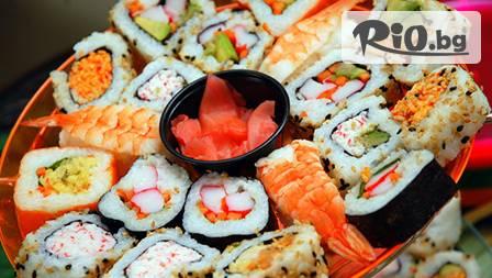 52 суши хапки С МНОГО РИБА и превъзходен вкус за 16.90 лв от SUSHITO.BG