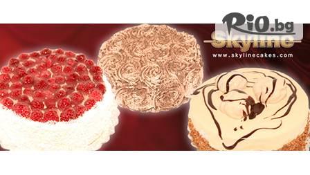 Сладко изкушение - ТОРТА по избор за 12 лв. с безплатна доставка от сладкарници