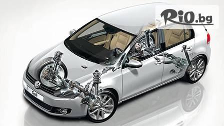 Проверка на амортисьори на лек автомобил или джип чрез шок тестер за 7.50лв. от Автосервиз Оптела