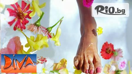 Китайски масаж ЗА УМОРЕНИ КРАКА и ходила с френската козметика THALION за 8,90 лв от Салон за красота Дива