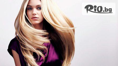 Полиране на косата с полировчик или Възстановяваща терапия за много изтощена коса, от Салон за красота Esthetique