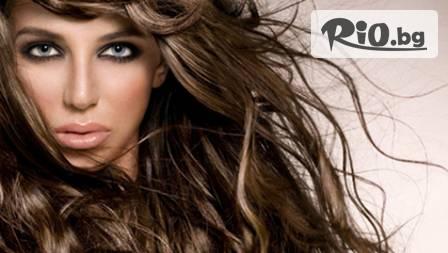 Здраве за косата! Колагенова терапия, измиване, подстригване и сешоар за 19 лв. вместо за 40 лв. Салон за красота