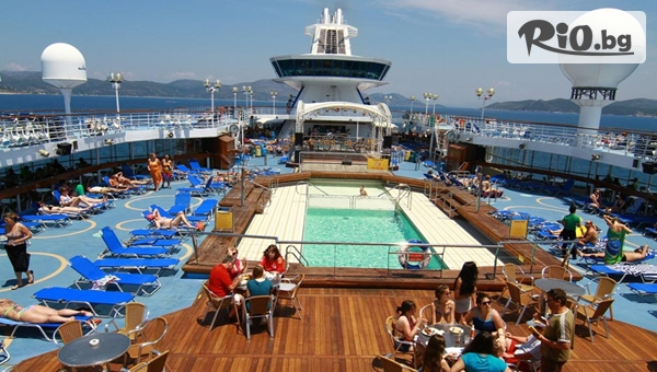 Майски празници на кораб! 5-дневен All Inclusive круиз до Санторини, Микoнос, Родос Патмос, Крит и Кушадасъ, от Океан Травел