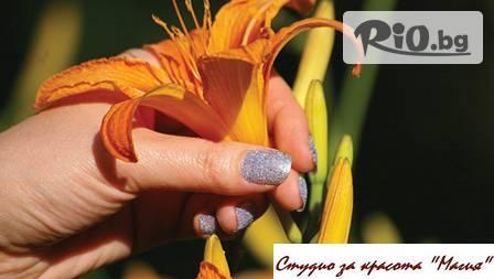 Маникюр или педикюр с OPI или Perfect цветове лято 2013 + 4 декорации от 6,90 лв. в студио МАГИЯ