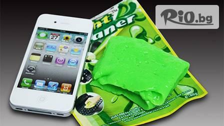 Уникална почистваща гъба Bright сleaner - мултифункционална за електроника, автотабла и обувки за 3,45 лв