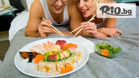 Суши за 9,85 лв! Syshilive предлага избор от 3 сета с 70% отстъпка с много риба и зеленчуци
