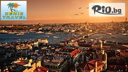 Уикенд в Истанбул с 2 нощувки, закуски, транспорт и посещения на различни туристически обекти за 118лв, вместо 135лв.