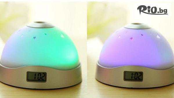 LED часовник peзaчĸa