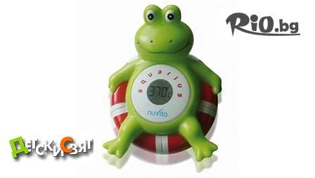 Nuvita AQUARIUS Термометър за баня жаба на уникалната цена от 17,99лв, вместо 24,99лв + БЕЗПЛАТНА ДОСТАВКА