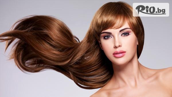 Кератинова терапия за коса + прав сешоар, от Студио за красота Extra Style