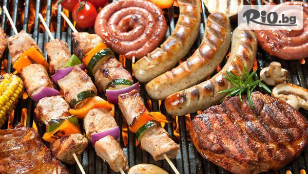 Вкусен обяд! Супа по избор + Основно (готвено) или BBQ от обедното меню, от Ресторант Saint Angel