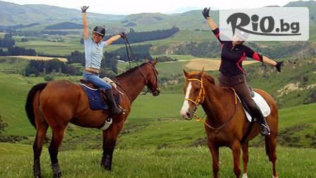 Уестърн приключение - 30 мин. конна езда за 9,99 лв. от комплекс