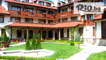 Почивка в Банско до края на Септември! Нощувка със закуска + басейн и сауна, от Хотел Евелина Палас 4*