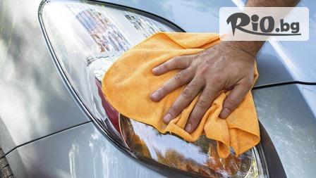 Полиране на фарове на автомобил с пасти 3М, от Сервиз Крит