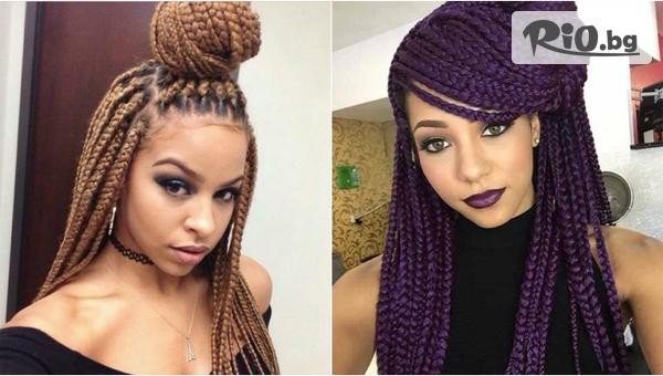 Афроплитки на цяла коса