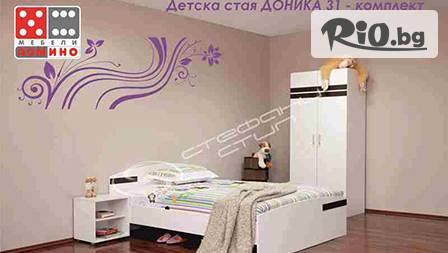 Сладък сън в бяло! Детска стая