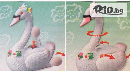 Музикален лебед, снасящ яйца- истинска атракция за всички деца само за 9,90 лв от Iznenadai.com