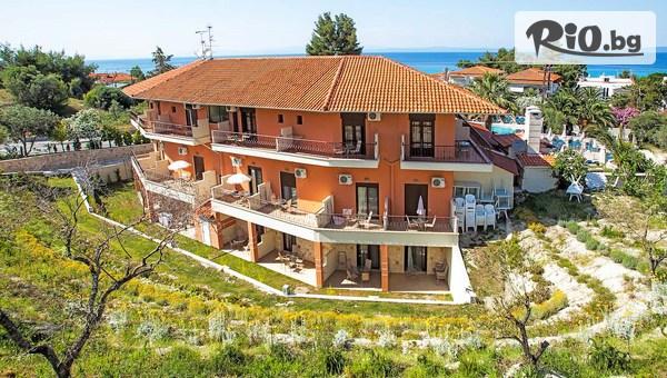 Великден в Гърция! 3 нощувки със закуски и вечери в Anna Maria Paradise hotel 3*, Халкидики–Касандра, от Космополитън Травъл