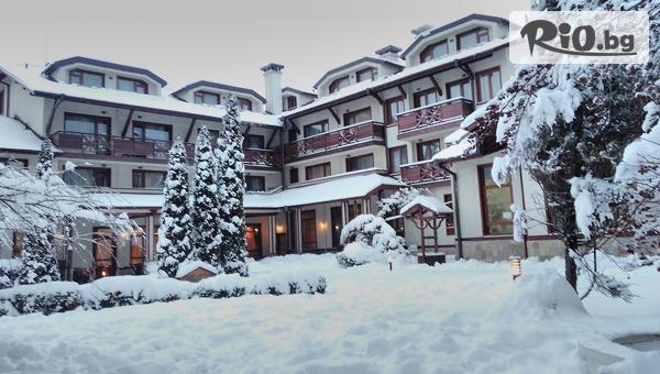 Зимна СПА почивка в Банско през Януари! 2 или 3 нощувки със закуски и вечери + басейн и сауна, от Хотел Евелина Палас 4*