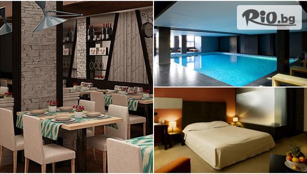 Делнична СПА почивка в Банско! 3 или 4 нощувки със закуски + басейн и релакс зона, от Хотел Ривърсайд 4*