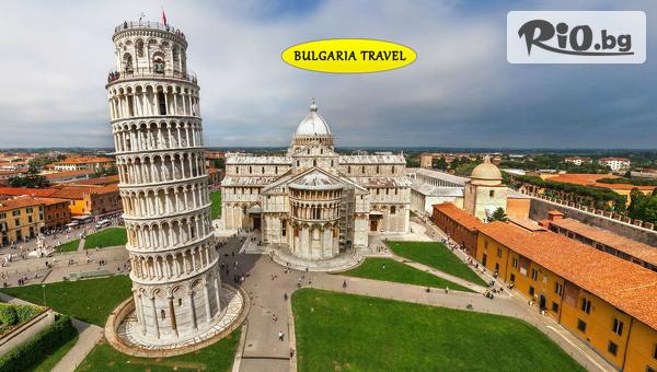 Екскурзия до Италия - Венеция, Флоренция, Рим, Пиза и Верона! 7 нощувки със закуски, автобусен транспорт и Туристическа програма с екскурзовод, от Bulgaria Travel