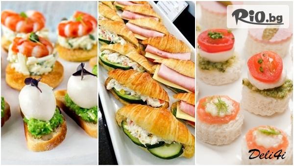 Плата с мини сандвичи