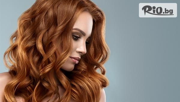 Терапия за коса по избор с органични продукти О Way + оформяне със сешоар, от Студио Deja Vu