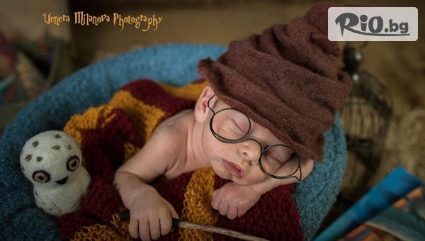 Професионална фотосесия за новородени