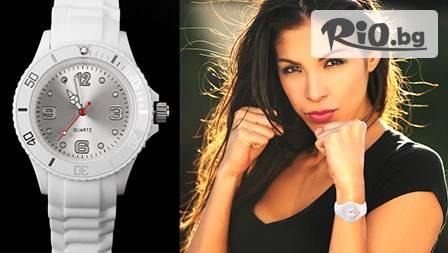 Бъди стилен и винаги в час със силиконов унисекс часовник от FestShop-BG за 6,80 лв