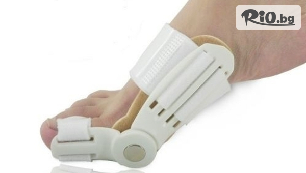 Погрижете се за изпъкнало кокалче на палеца със Силиконови шини или Нощна ортеза с подвижен механизъм, от Hipo.bg.