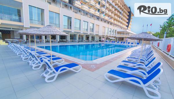 Последни места за почивка в Кушадасъ! 5 или 7 нощувки на база All Inclusive в Хотел EPHESIA 4*, със собствен транспорт, от Глобус Холидейс
