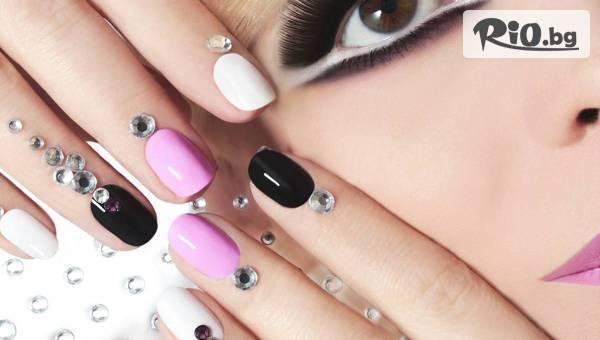 Маникюр с гел лак Secretly, Neo Nail + 4 броя декорации и безплатно премахване на стар гел лак, от In Heaven Beauty Studio
