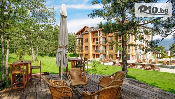 Гергьовден край Банско! 2 или 3 нощувки, закуски, вечери и Празничен обяд + СПА и басейни, от Апартаментен комплекс Пирин Голф 4*
