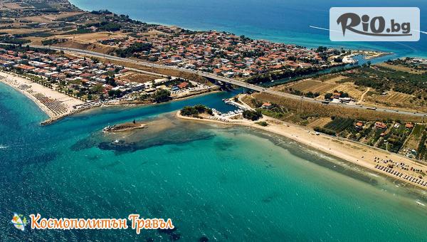 Незабравим Гергьовден в Гърция - на 50м. от плажа! 3 нощувки със закуски и вечери в Aqua Mare Hotel 3*, Халкидики, от Космополитън Травъл