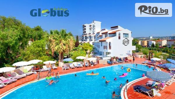 Майска почивка в Кушадасъ, Турция! 7 нощувки на база All Inclusive в Хотел SENTINUS 4*, от Глобус Холидейс