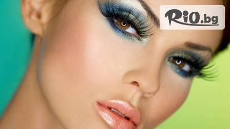 Италианска модна визия! Професионален грим с продуктите на KARAJA за 18.80 лв. в студио А FASHION LINE