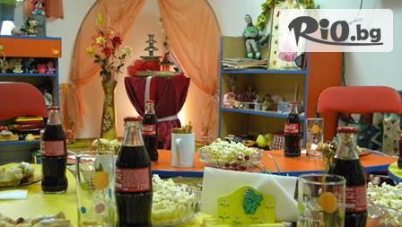 Шоколадово-караоке парти за детски празник с 10 деца в