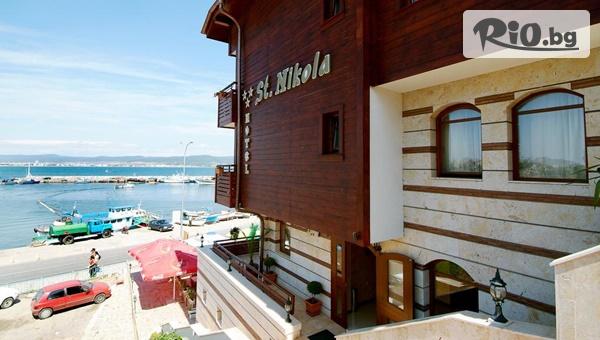 На море в Стария град на Несебър! Нощувка в двойна стая с изглед към морето, от Хотел Свети Никола 3*