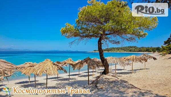 За Септемврийските празници в Гърция! 5 нощувки в Аnastasia Apartments, Халкидики, от Космополитън Травъл