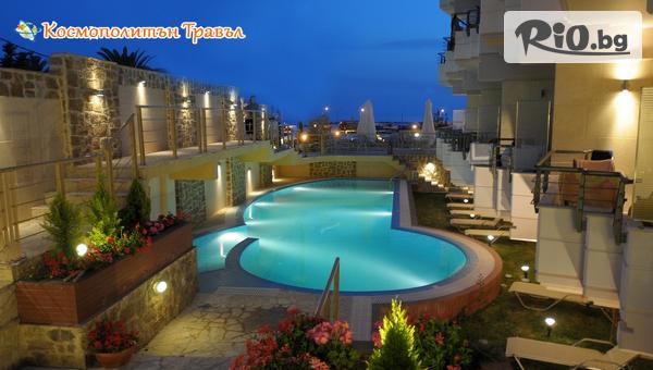 Майска почивка на Халкидики, Касандра! 5 нощувки със закуски и вечери в Imperial Hotel 3* - на 50 метра от плажа, от Космополитън Травъл