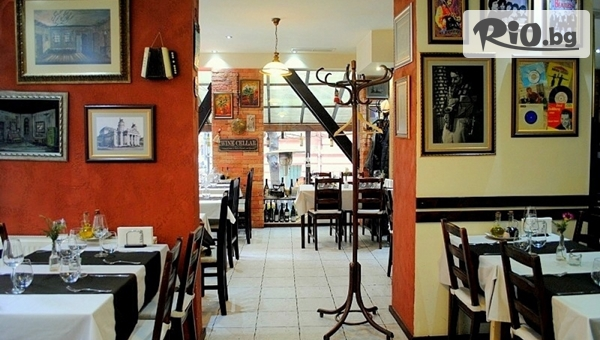 Апетитно хапване! Основно ястие /по избор/ + гарнитура и жива музика, от BG Wine Restaurant
