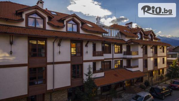 Почивка в Банско през Декември! Нощувка със закуска и вечеря /по избор/ + СПА зона, от Хотел Френдс 3*