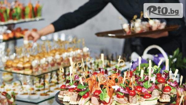 Кетъринг за твоя празник за 10, 20 или 30 гости в различни варианти, от Криейтив кетъринг