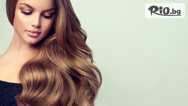 Боядисване на косата, Изрусяване на корени или Ботокс терапия Lisap за суха и изтощена коса с 50% отстъпка, от Krestyle Beauty Center