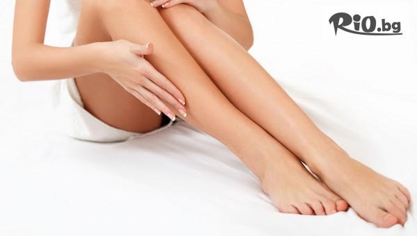 1 процедура Фотоепилация за жени на зона половин крака (глезен - коляно), от Студио за красота Феникс