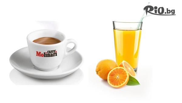 """Фреш + Кафе """"Молинари"""" #1"""